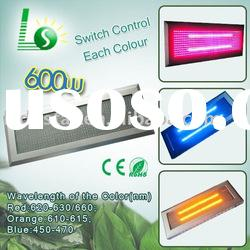 2011 hydro green panel 600W led grow light (Flowering,fruiting)