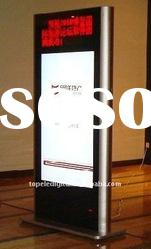 37 inch floor standing totem lcd advertising display for shopping mall