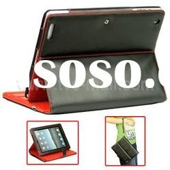 4400mAh Leather Case Power External Charger for iPad 2,Leather Battery Case