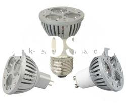 Dimmable high power 3W LED spotlight MR16
