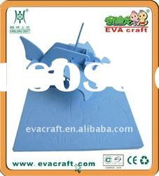 EVA Foam 3d Plane jigsaw Puzzle for Children