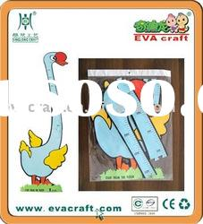 EVA Foam Cartoon Animal Size Chart