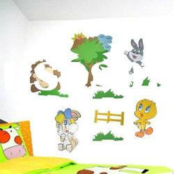 EVA Removable Kids Wall Stickers