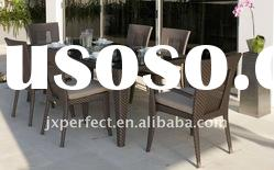 HOT!-European pe rattan chating garden set patio furniture PR-070
