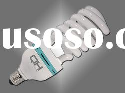 High Power 55w 14.5mm half spiral Energy Saving Lamp