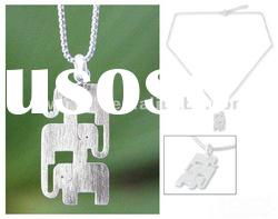 Hip Hop Chains Necklace/New Silver Animal Pendant Necklace/Fashion Jewelry