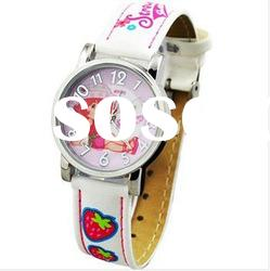 Hot!!child watch promotional gift with gift box-oem