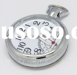 Hot!cute pocket watch necklace promotional gift with gift box-OEM&ODM