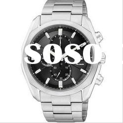 Hot!!!fashion high quality stainless steel watch