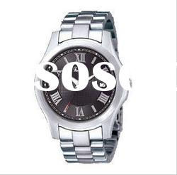 Hot!!!fashion japan movt watch stainless steel black