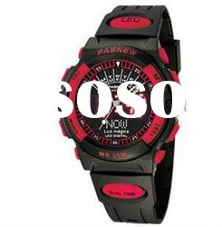 Hot!sport watch for christmas gift with gift box-oem