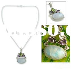 Jade necklace pendant /Fashion and fancy jewelry/New women pendant designs