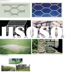Low cost and high quality galvanized and PVC coated Hexagonal wire mesh