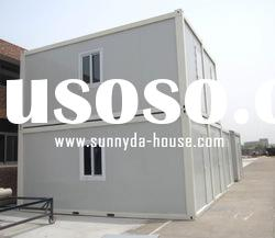Prefabricated steel container house