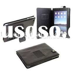 Protable Leather Skin Case for Apple iPad 2 With Holder & Magnetic Flip