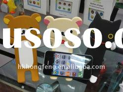 Rilakkuma Bear Mobile Phone Stand For iPhone 4 Touch