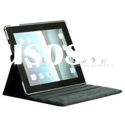 Rotatable Lichee Pattern PU Leather Case for iPad 2 Accessories