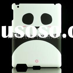 Shy Panda Pattern For iPad 2 Hard Plastic Back Cover