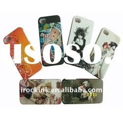 Silicone flower case for iphone 4