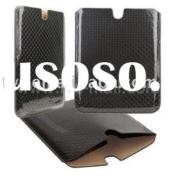 Smooth Surface Twill Check Leather Pouch Case Cover for iPad 2 2G 2nd Gen