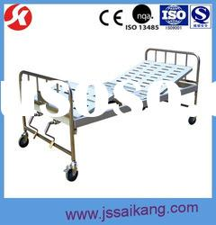 Special price! Economy Two-Function Manual Hospital Bed