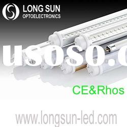 Super bright t8 led tube light CE&Rhos approval 3years warranty