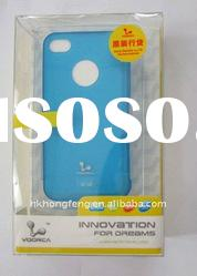 Voorca TPU Hard Case Skin for Apple iPhone 4 4th Gen Ultra-thin Series 0.03MM