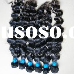 Wavy single weft hair extension too thin easy to sew
