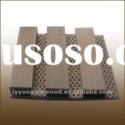 Wood-Plastic Composite 195 High Sound-Absorbing Panel