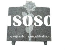 absolute black granite headstone