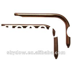 bent sintered copper heat pipe with high quality