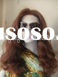 brown human hair full lace wig