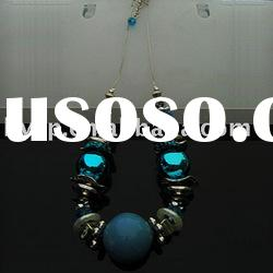 fashion necklace Jewelry natural stone necklace
