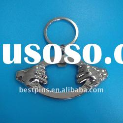 keychain beer bottle opener metal