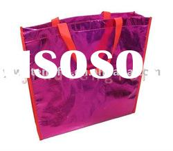 new pp non-woven bag red bag reusable bag promotion bag