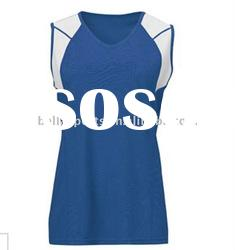 round neck volleyball uniform,plain polyester volleyball jerseys