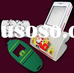 soft pvc mobile phone display stand