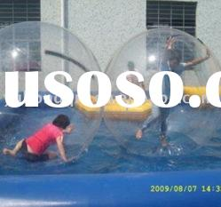 water ball and inflatable water pool