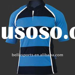 100% polyester pique boy's team Rugby shirts/Rugby jersey/Rugby t-shirts/Rugby tshirts