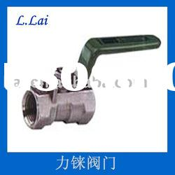1-PC Flanged Ball Valve with Handle