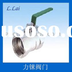 1pc Flange Ball Valve with Handle