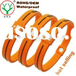 2011 Hot Selling energy silicone wristband maker