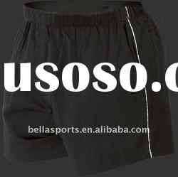 2011 Performance Match black Rugby sports short/pants in cotton/spandex fabric