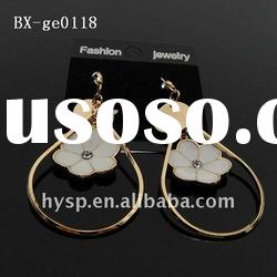 2011 newest fashion gold jhumka earrings