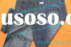 2012 Long Yi newest denim jeans fabric women's jeans fabric