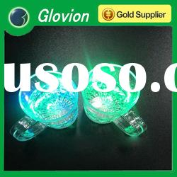 2012 best seller advertising shot glass cup led flashing glass