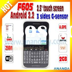 "2.5"" QWERTY Keyboard Dual Sim Mobile Phone F605"