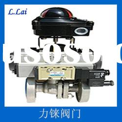 2pcs Stainless Steel Ball Valve with Pad