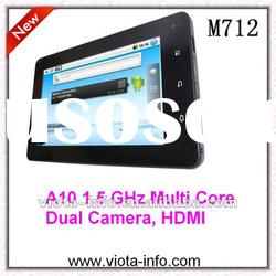7 inch Capacitive Android Tablet PC with Dual Camera, HDMI