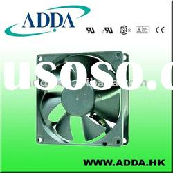 ADDA ball bearing fan 92X92X25mm 12v/24v dc pc fan AD9225(T)